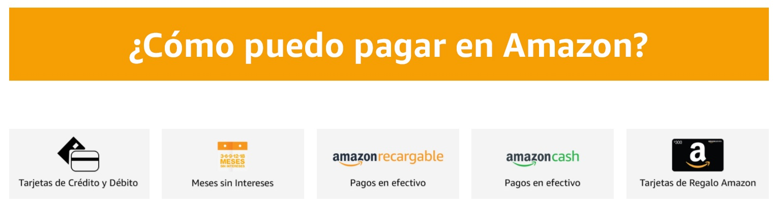 formas de pago del J Springs en Amazon